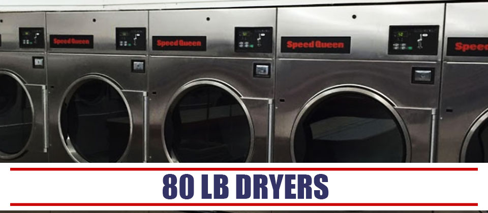 World O Suds 80 lb Dryers